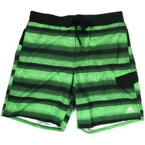 NWOT Adidas Mens Swim Trunks Shorts Size XL Green